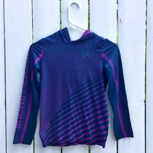 Lightweight Blue and Purple Hoodie - Under Armour